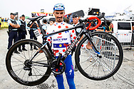 Julian Alaphilippe (FRA - QuickStep - Floors) polka dots jersey during the 105th Tour de France 2018, Stage 17, Bagneres de Luchon - Col du Portet (65 km) on July 25th, 2018 - Photo Luca Bettini / BettiniPhoto / ProSportsImages / DPPI