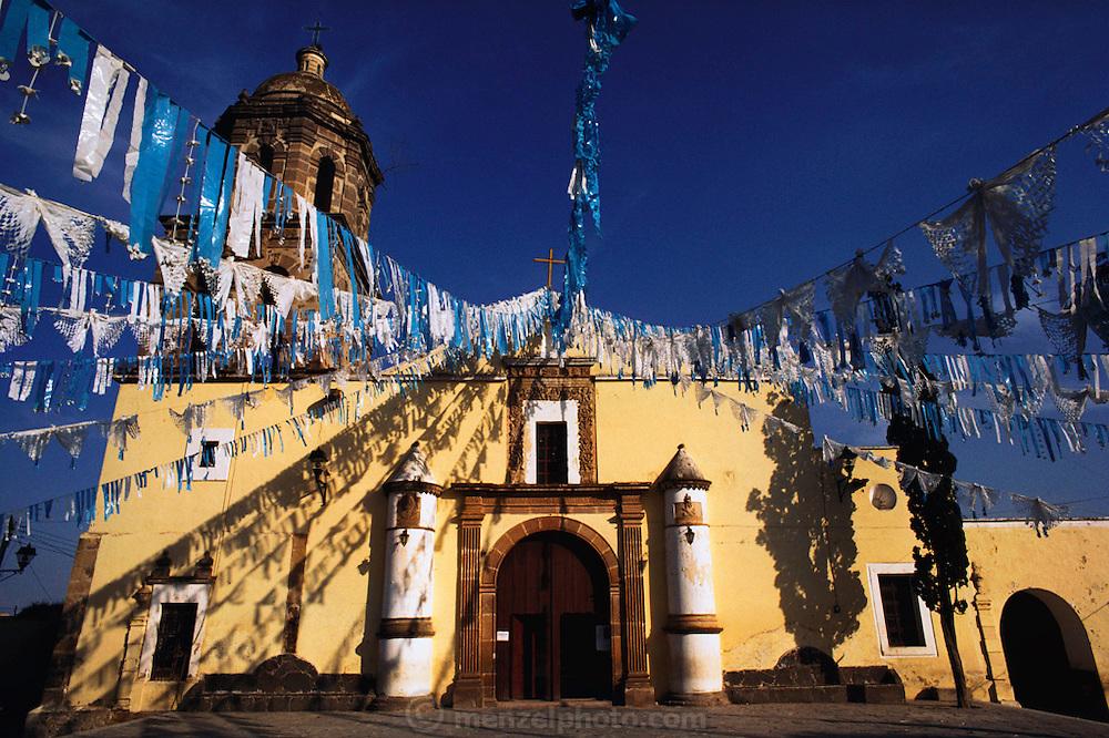 Church in Tonala, Mexico.