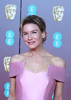 Renee Zellweger, EE British Academy Film Awards, Royal Albert Hall, London, UK, 02 February 2020, Photo by Richard Goldschmidt
