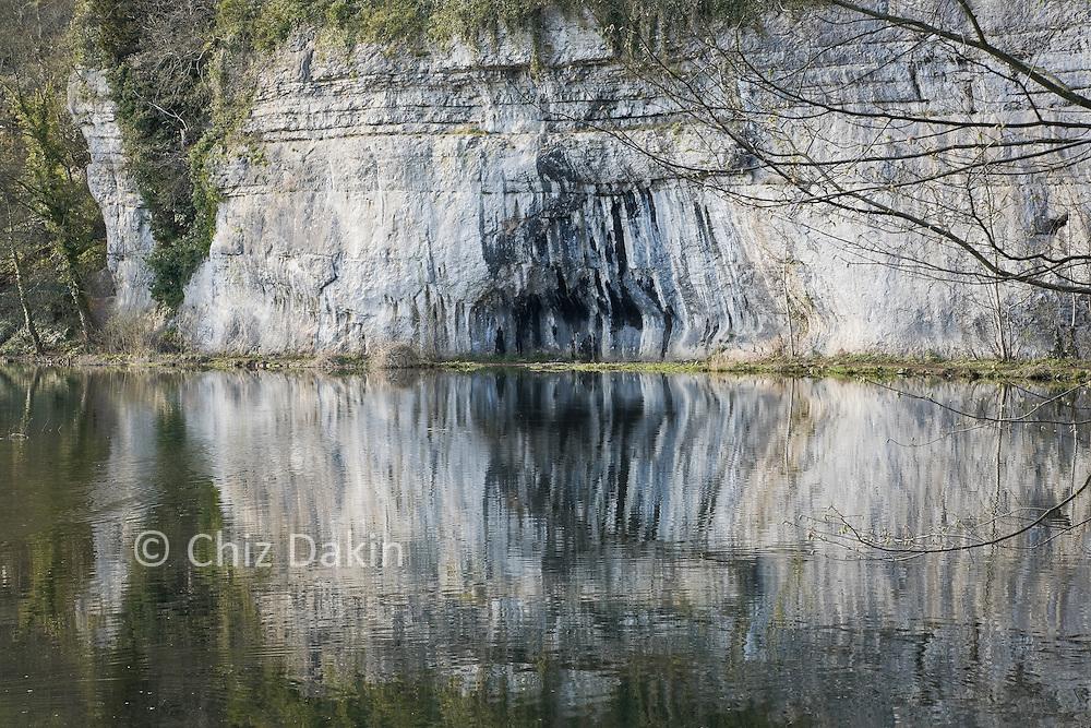 Rubicon Wall, Water-cum-Jolly, Monsaldale, Peak District National Park