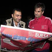 Turkish soccer National team preparing World Cup 2004. Turkish Head Coach Senol Gunes during their in Florya Metin Oktay training center Istanbul/TURKEY .<br /> Photo by Aykut AKICI/TurkSporFoto