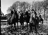 1977 - Hunt Meet At Brittas, Co Dublin.   (K85).