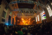 EXCEPTER performs at the Electronica en Abril festival 2014
