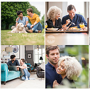 Part of a series of shots for a healthcare, lifestyle campaign.