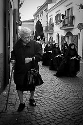 Melfi (PZ) 02-04-2010 - Processione del Venerdì Santo.