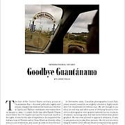 Guantanamo Bay detention center feature in The Walrus Magazine.