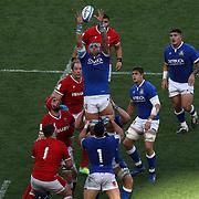 Roma 13/03/2021, Stadio Olimpico<br /> Guinness Six Nations 2021<br /> Italia vs Galles<br /> <br /> Niccolo Cannone