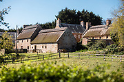 Hamptonne Country Life Museum - a farm and historic building owned by Jersey Heritage in the St Lawrence countryside, Jersey, CI