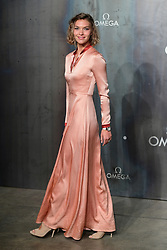 Arizona Muse attending the Lost in Space event to celebrate the 60th anniversary of the OMEGA Speedmaster held in the Turbine Hall, Tate Modern, 25 Sumner Street, Bankside, London.