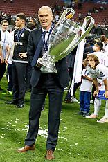 Zinedine Zidane leaves Real Madrid, 31 May 2018