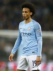 February 24, 2019 - London, England, United Kingdom - Manchester City's Leroy Sane.during during Carabao Cup Final between Chelsea and Manchester City at Wembley stadium , London, England on 24 Feb 2019. (Credit Image: © Action Foto Sport/NurPhoto via ZUMA Press)