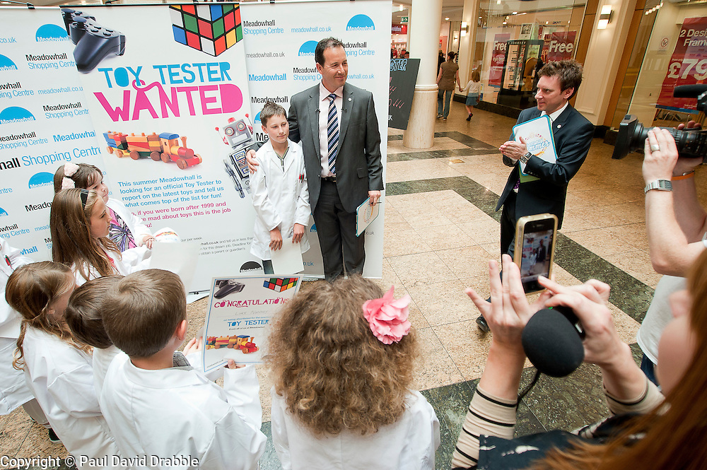 Meadowhall Toy Tester the final eight interviews and winner.25 July 2011.Images © Paul David Drabble