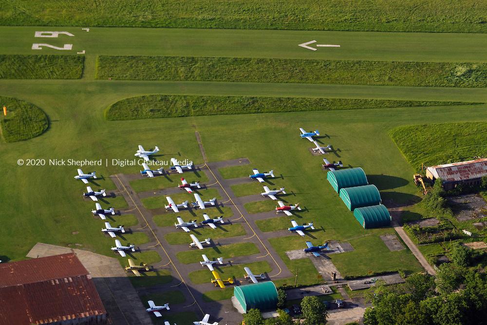Panshanger Aerodrome EGLG, UK