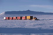 Alaska. Killik. Cat train on the North Slope.