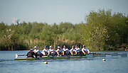 Caversham, United Kingdom,   GBR W8+.  Early morning Training. GBR Rowing, European Championships, team announcement, of crews competing in Belgrade, in May. Venue, GBR rowing training base, near Reading,<br /> 08:19:59  Wednesday  14/05/2014 <br /> [Mandatory Credit: Peter Spurrier/Intersport<br /> Images]