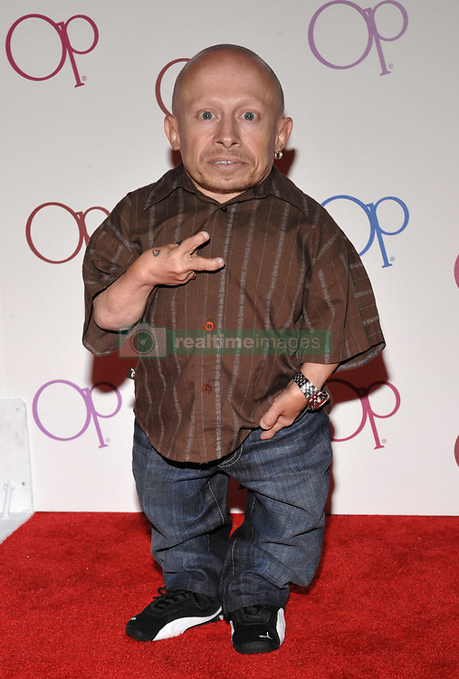 File photo - Verne Troyer arriving for the Ocean Pacific Clothing Line Party held in a private residence in Beverly Hills, Los Angeles, CA, USA on June 3, 2008. Verne Troyer, who is best known for playing Mini-Me in the Austin Powers films, has died at the age of 49. Troyer, who was 81cm tall, also played Griphook in the first Harry Potter film. Photo by Lionel Hahn/ABACAPRESS.COM