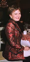 COMTESSE PILAR DE LA BƒRAUDIéRE at a dinner in London on 30th November 1998.MMK 143
