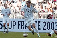FOTBALL - CONFEDERATIONS CUP 2003 - GROUP A - 030618 - NEW ZEALAND v JAPAN - IVAN VICELICH (ZEA) - PHOTO STEPHANE MANTEY / DIGITALSPORT