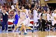 DESCRIZIONE : Forli DNB Final Four 2014-15 Npc Rieti BCC Agropoli<br /> GIOCATORE : Armando Iannone Nicolas Manuel Stanic<br /> CATEGORIA : esultanza<br /> SQUADRA : Npc Rieti<br /> EVENTO : Campionato Serie B 2014-15<br /> GARA : Npc Rieti BCC Agropoli<br /> DATA : 13/06/2015<br /> SPORT : Pallacanestro <br /> AUTORE : Agenzia Ciamillo-Castoria/M.Marchi<br /> Galleria : Serie B 2014-2015 <br /> Fotonotizia : Forli DNB Final Four 2014-15 Npc Rieti BCC Agropoli