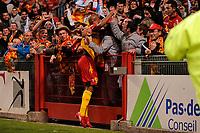 FOOTBALL - FRENCH CHAMPIONSHIP 2009/2010 - L1 - RC LENS v GIRONDINS BORDEAUX - 15/05/2010 - PHOTO JULIEN CROSNIER / DPPI - JOY TOIFILOU MAOULIDA (RCL)