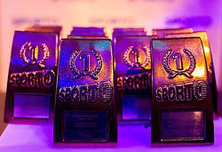 Trophies at Sporto Dinner with Sporto Awards 2013 Ceremony during sports marketing and sponsorship conference Sporto 2013, on November 21, 2013 in Hotel Slovenija, Congress centre, Portoroz / Portorose, Slovenia. Photo by Vid Ponikvar / Sportida