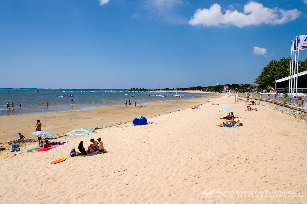 France, Andernos-les-Bains. Town in Arcachon Bay.