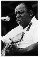 Big Joe Williams, Ann Arbor Blues Festival, 1969