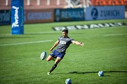 August 24, 2018. Malvinas Argentinas Stadium, Mendoza, Argentina.<br /> EMBROSE PAPIER warming up during captain run session.