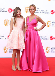 Amanda Holden and daughter Alexa attending the Virgin TV British Academy Television Awards 2018 held at the Royal Festival Hall, Southbank Centre, London. PRESS ASSOCIATION Photo. Picture date: Sunday May 13, 2018. See PA story SHOWBIZ Bafta. Photo credit should read: Isabel Infantes/PA Wire