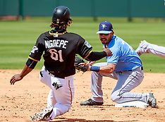 FILe: Gift Ngoepe, first African born MLB player - 28 April 2017