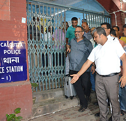 June 15, 2017 - Kolkata, West Bengal, India - Journalist Matthew Samuel , CEO of Narada News  Comes out from the Police station after questioning in connection with money laundering scam in Kolkata , India on Thursday , 15th June , 2017  (Credit Image: © Sonali Pal Chaudhury/NurPhoto via ZUMA Press)