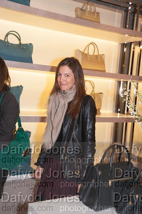 AMANDA SHEPPARD, Smythson Sloane St. Store opening. London. 6 February 2012.