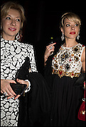 MARIANNA OSLIN; ELENA LIFNACH, The World's First Fund Fair  in aid of Natalia Vodianova's charity the Naked Heart Foundation. The Roundhouse. London. 24 February 2015.