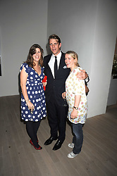 Left to right, KATE ELLIOT, her brother BEN ELLIOT and LAURA PARKER BOWLES at the Quintessentailly Summer Party at the Phillips de Pury Gallery, 9 Howick Place, London on 9th July 2008.<br /><br />NON EXCLUSIVE - WORLD RIGHTS