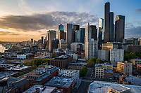 Downtown Seattle, Early Evening
