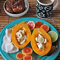 Hawaiian breakfast spread