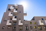 the Kubikon quarter of the GAG Immobilien AG in the Ehrenfeld district of Cologne, Germany.<br /> <br /> das Stadtquartier Kubikon der GAG Immobilien AG im Stadtteil Ehrenfeld, Koeln, Deutschland.