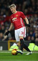Football - 2016 / 2017 League [EFL] Cup - Quarter-Final: Manchester United vs. West Ham United<br /> <br /> Bastian Schweinsteiger  of Manchester United during the match at Old Trafford.<br /> <br /> COLORSPORT/LYNNE CAMERON