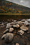 Susquehanna Rocky Shore in Autumn II by Darren Elias
