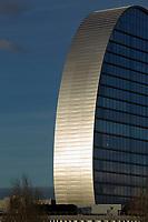 06/Febrero/2017 Madrid<br /> Edificio Vela de BBVA en Madrid.<br /> <br /> © JOAN COSTA