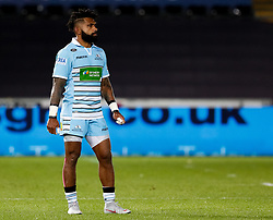 2nd November, Liberty Stadium , Swansea, Wales ; Guinness pro 14's Ospreys Rugby v Glasgow Warriors ;  Nikola Matawalu of Glasgow Warriors<br /> <br /> Credit: Simon King/News Images<br /> <br /> Photographer Simon King/Replay Images<br /> <br /> Guinness PRO14 Round 8 - Ospreys v Glasgow Warriors - Friday 2nd November 2018 - Liberty Stadium - Swansea<br /> <br /> World Copyright © Replay Images . All rights reserved. info@replayimages.co.uk - http://replayimages.co.uk