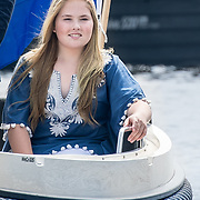 NLD/Warmond//20170707 - Koninklijke fotoshoot zomer 2017,  prinses Amalia
