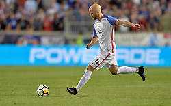 September 1, 2017 - Harrison, NJ, USA - Harrison, N.J. - Friday September 01, 2017:   Michael Bradley during a 2017 FIFA World Cup Qualifying (WCQ) round match between the men's national teams of the United States (USA) and Costa Rica (CRC) at Red Bull Arena. (Credit Image: © John Todd/ISIPhotos via ZUMA Wire)