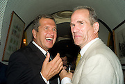 MARIO TESTINO; SANDY NAIRN, Richard Prince opening at the Serpentine gallery and afterwards at Annabels. London. 25 June 2008 *** Local Caption *** -DO NOT ARCHIVE-© Copyright Photograph by Dafydd Jones. 248 Clapham Rd. London SW9 0PZ. Tel 0207 820 0771. www.dafjones.com.
