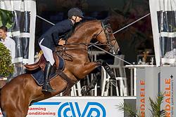 Beyers Guy, BEL, Of Passion van den Dael<br /> Belgisch Kampioenschap 7 jarige springpaarden - Oudsbergen 2021<br /> © Hippo Foto - Dirk Caremans<br /> 15/08/2021