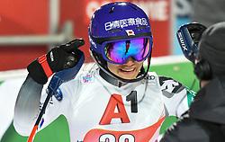 14.01.2020, Hermann Maier Weltcupstrecke, Flachau, AUT, FIS Weltcup Ski Alpin, Slalom, Damen, 2. Lauf, im Bild Asa Ando (JPN) // Asa Ando of Japan reacts after her 2nd run of women's Slalom of FIS ski alpine world cup at the Hermann Maier Weltcupstrecke in Flachau, Austria on 2020/01/14. EXPA Pictures © 2020, PhotoCredit: EXPA/ Erich Spiess