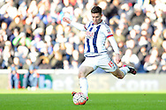 West Brom's Sebastien Pocognoci in action. The Emirates FA Cup, 4th round match, West Bromwich Albion v Peterborough Utd at the Hawthorns stadium in West Bromwich, Midlands on Saturday 30th January 2016. pic by Carl Robertson, Andrew Orchard sports photography.