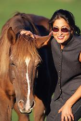 Linda Chorney & Horse