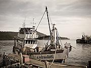 Fishing boat at Koh Kood Thailand