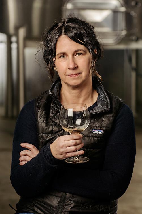 Ali Mayfield, portrait of a woman Wine Maker in Walla Walla